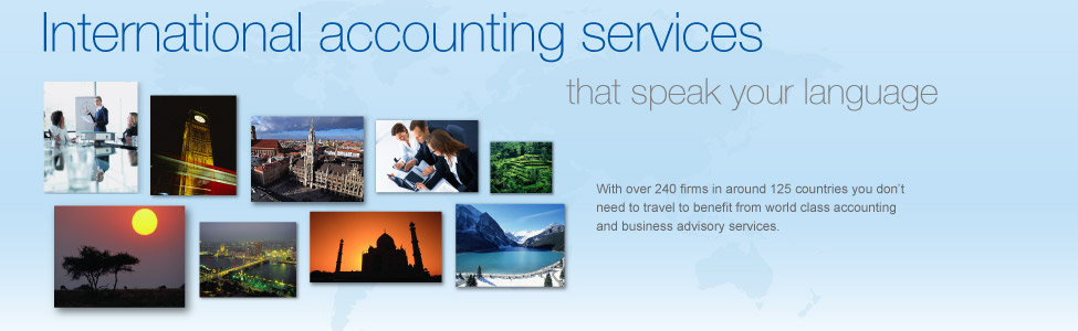 International accounting services that speak your language